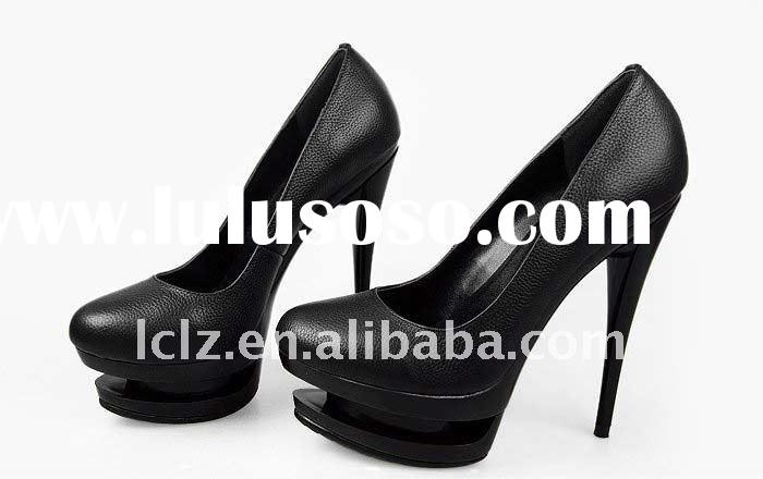 Free shipping 2012 double platform women high heels GL100 paypal