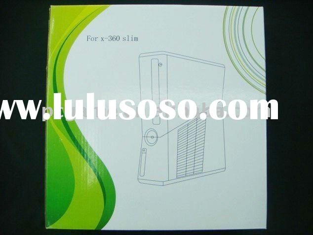 Full Housing Shell Case Replacement Black for XBOX360 Slim