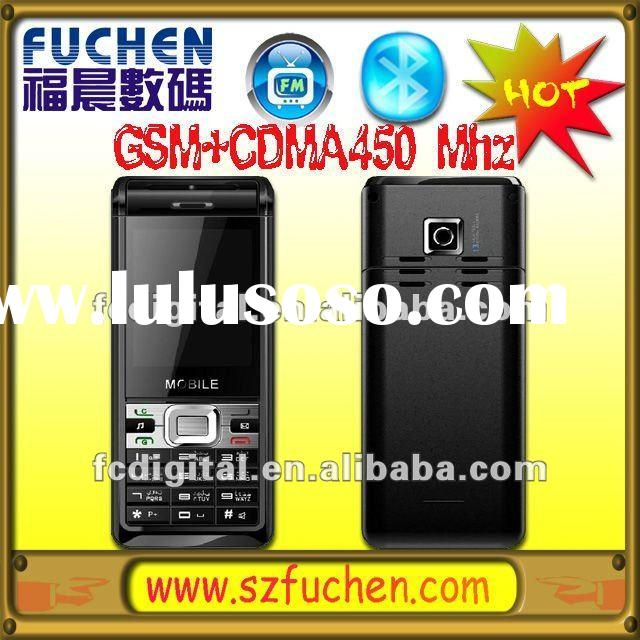 GSM CDMA450 Mobile Phone with Java Bluetooth Camera