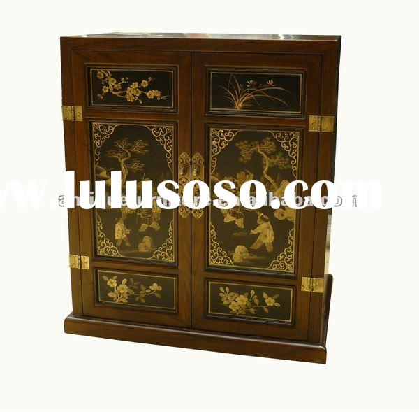 Hand painted cabinet, Kids painting cabinet, Chinease antique furniture