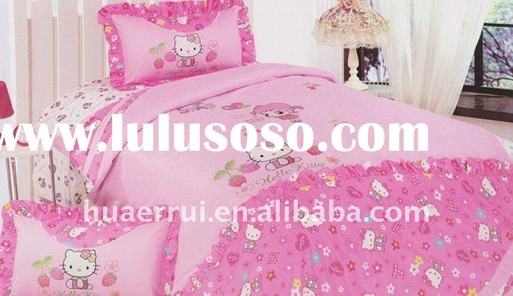 Hello kitty bed sheet/bedding sets