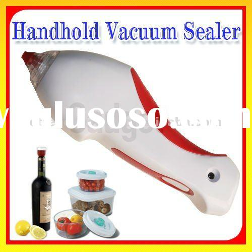 Home Packing System Seal Wine Bottle For Wholesale Handhold Vacuum Food Sealer