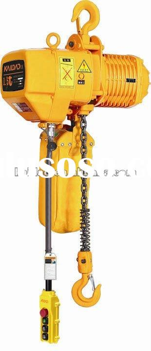 Hot!!!ELK 1.5 ton electric chain hoist with hook