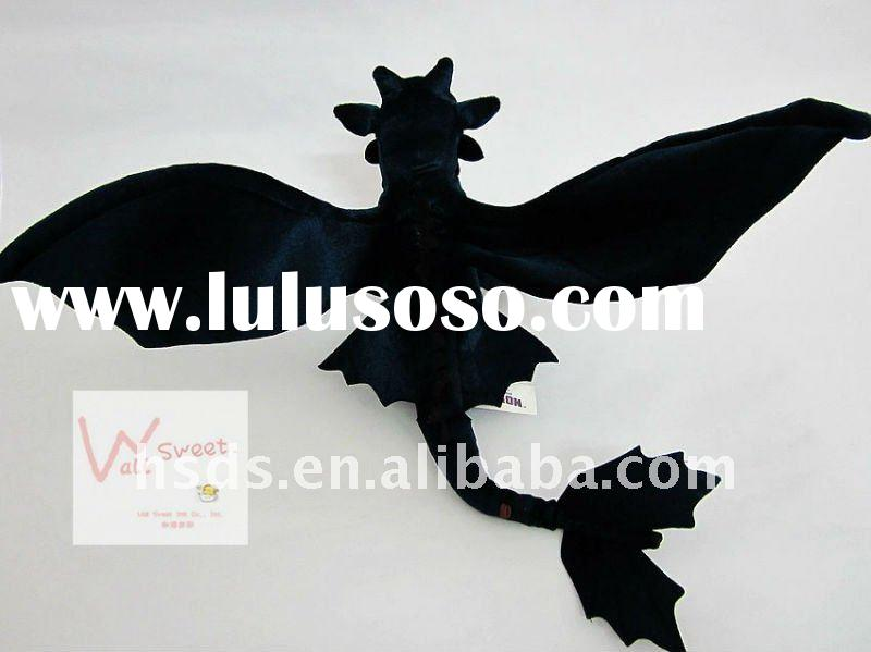 How to Train Your Dragon toothless Night Fury Plush Toy Stuffed Animals Movie Theme Toys