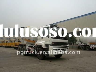 ISUZU concrete mixer truck for sale