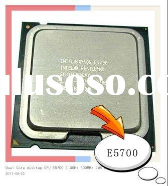 Intel Pentium Dual Core CPU E5700 3.0GHz 800MHz 2MB LGA775 for desktop
