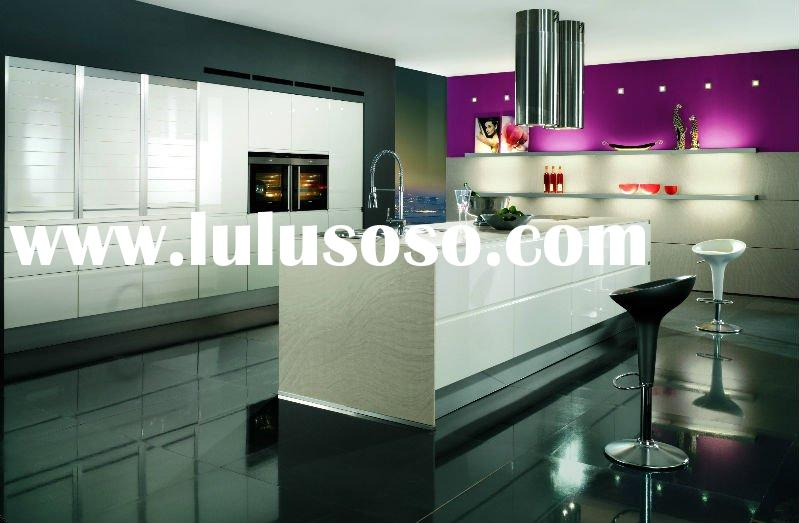 Lacquer modular kitchen cabinets