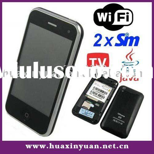 M002L WiFi JAVA TV Phone with 3.5inch touch screen