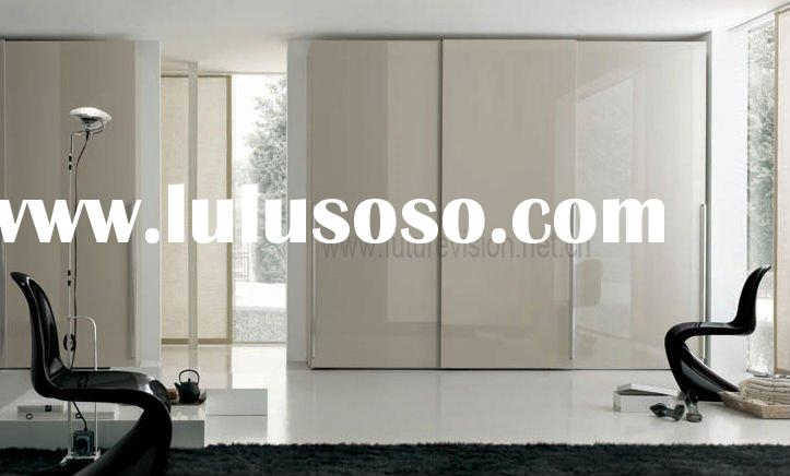 MDF/plywood/solid wood bedroom storage wardrobe units (EL-045W)