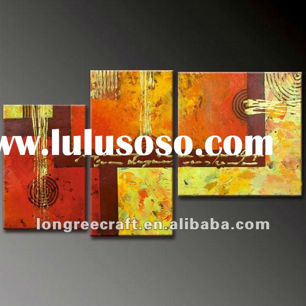 Modern Unique Abstract Wall Painting Designs GOP14