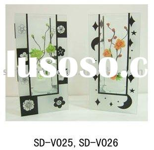 New High Quality Glass Decoration Vase