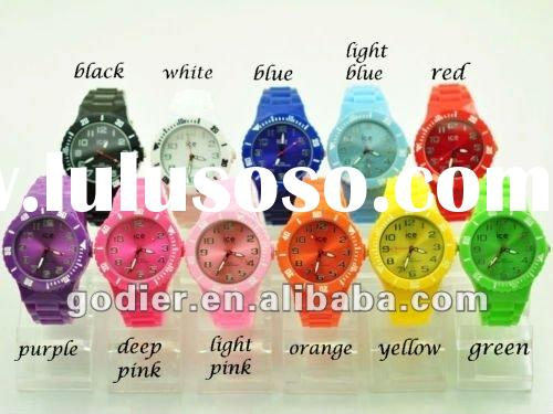 New Plastic Jelly Ice Style Quartz Watch Watches ODM Fashion With Removable Band
