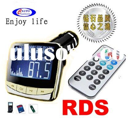 New RDS car cd mp3 player with wireless fm transmitter M338YA