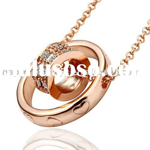 Newest Fashion 18k gold Necklaces jh 18k+gold+jewelry CN30