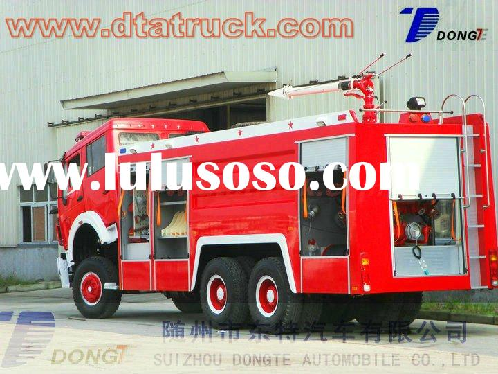 North Benz 6*4 foam fire truck,340hp Mercedes Benz technology fire truck M: 86-15271357675