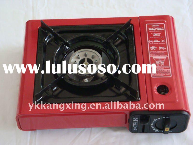 OEM Portable Butane Gas Camping Stove With FSD _ CE approved _ REACH(kx-6001)