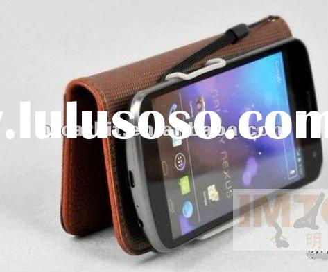 OEM Wallet Leather stand Case For Samsung Galaxy Nexus i9250 I515