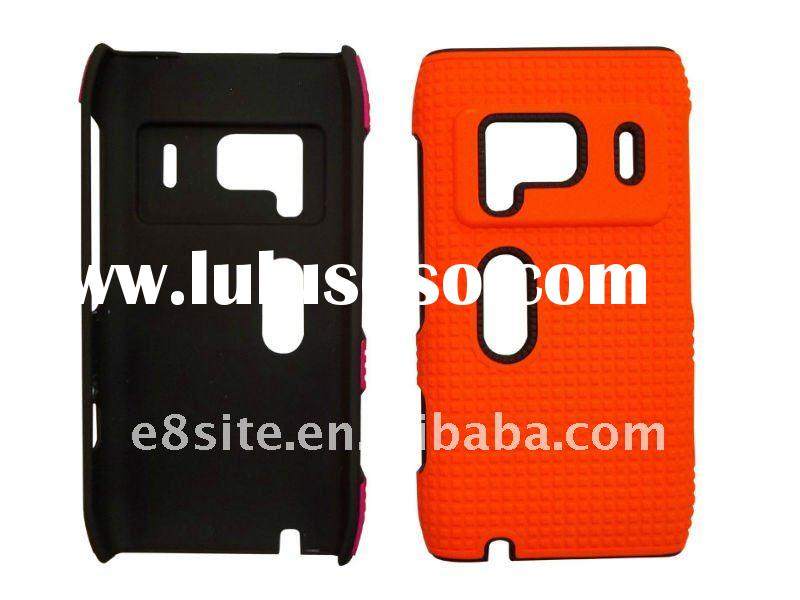 Orange Color Cell Phone Crystal Case Cover For Nokia N8