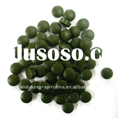 Organic spirulina tablet private label