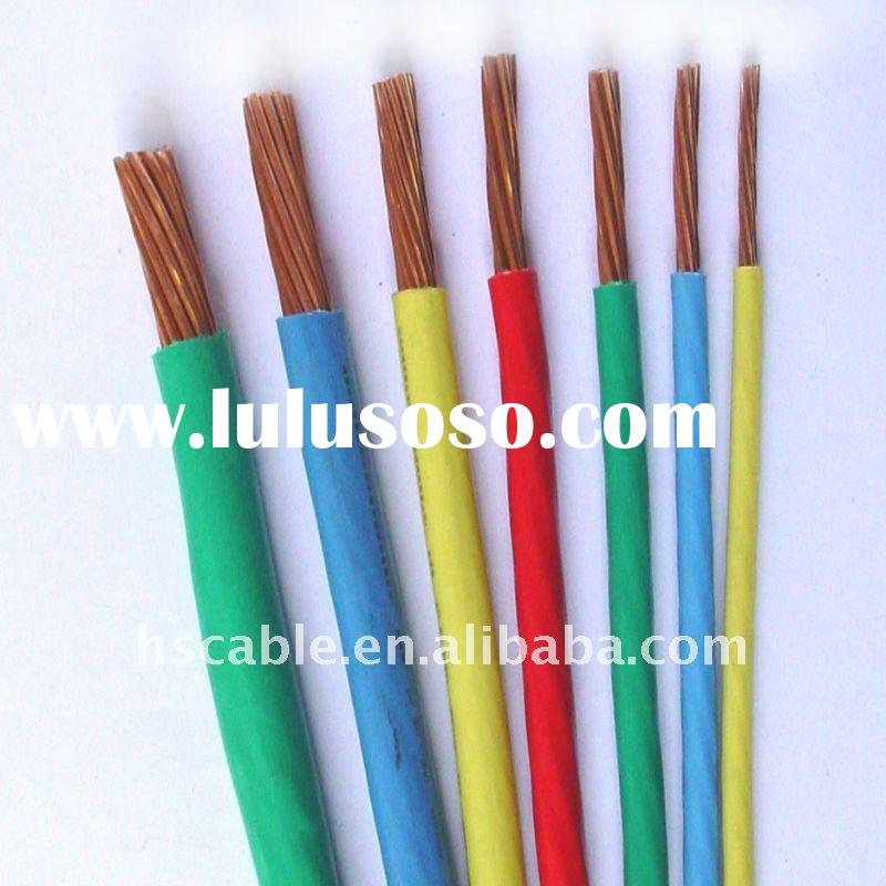 PVC Insulated Single Core Cable for United Arab Emirates
