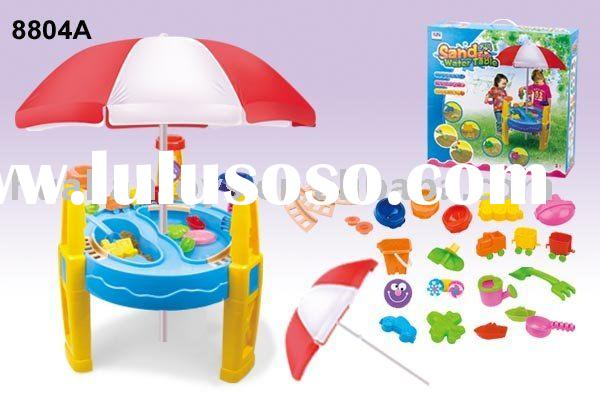 Sand and water table with umbrella 8804A kids sandbox