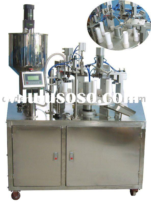 Semiauto Toothpaste Tubes Filling Sealing Machine