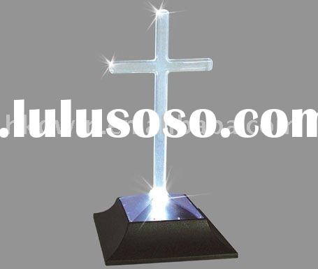 Solar Lighted Cross