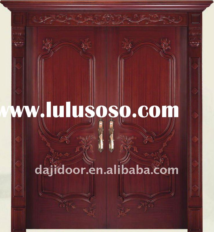 Solid Wood Villa Exterior Doors Design DJ-S801 | 738 x 800 · 78 kB · jpeg