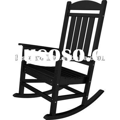 Solid wood Presidential rocker chair