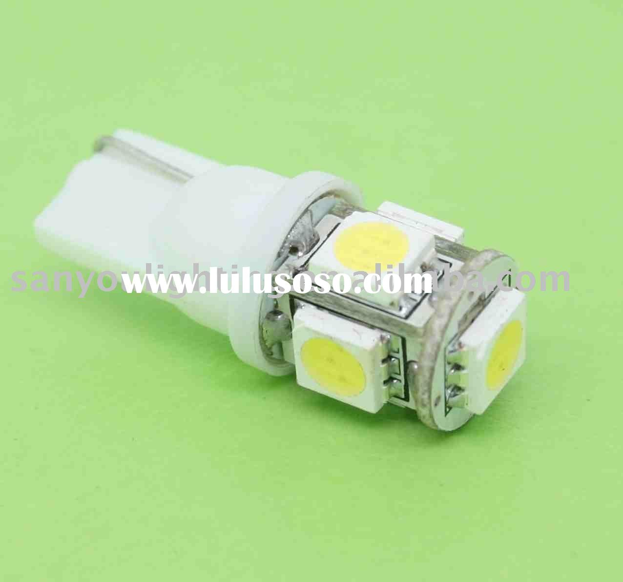 T10 5 SMD led car bulb,auto led signal light
