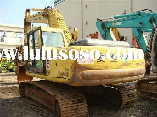 Used Komastu excavator PC200-6 Made in Japan For sale
