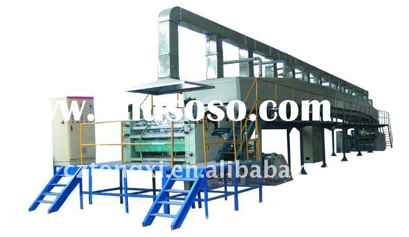 Water based acrylic BOPP packing tape Coating Machine
