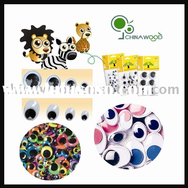White and Black,Color Back,Color Eyes,Self Adhesive Moving Eyes
