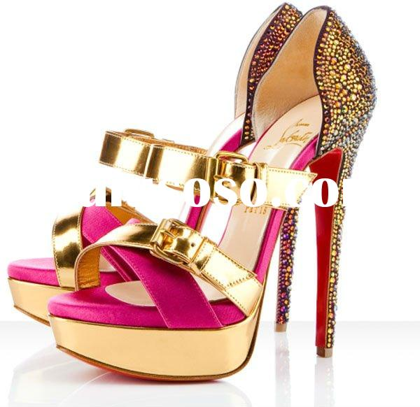 Wholesale ladies fashion brand sandals summer 2012