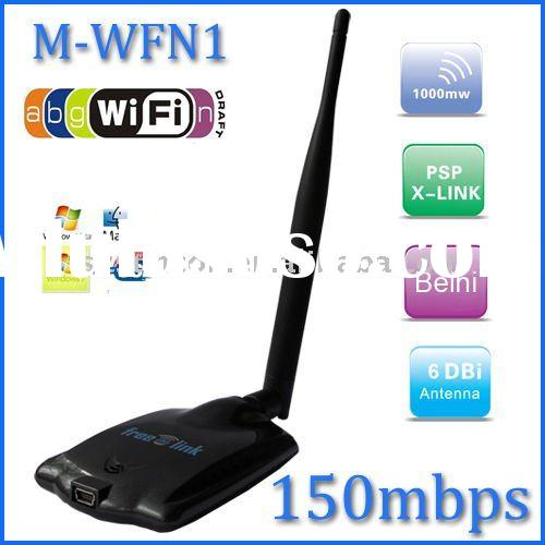 Wireless N High Power WiFi USB Adapter