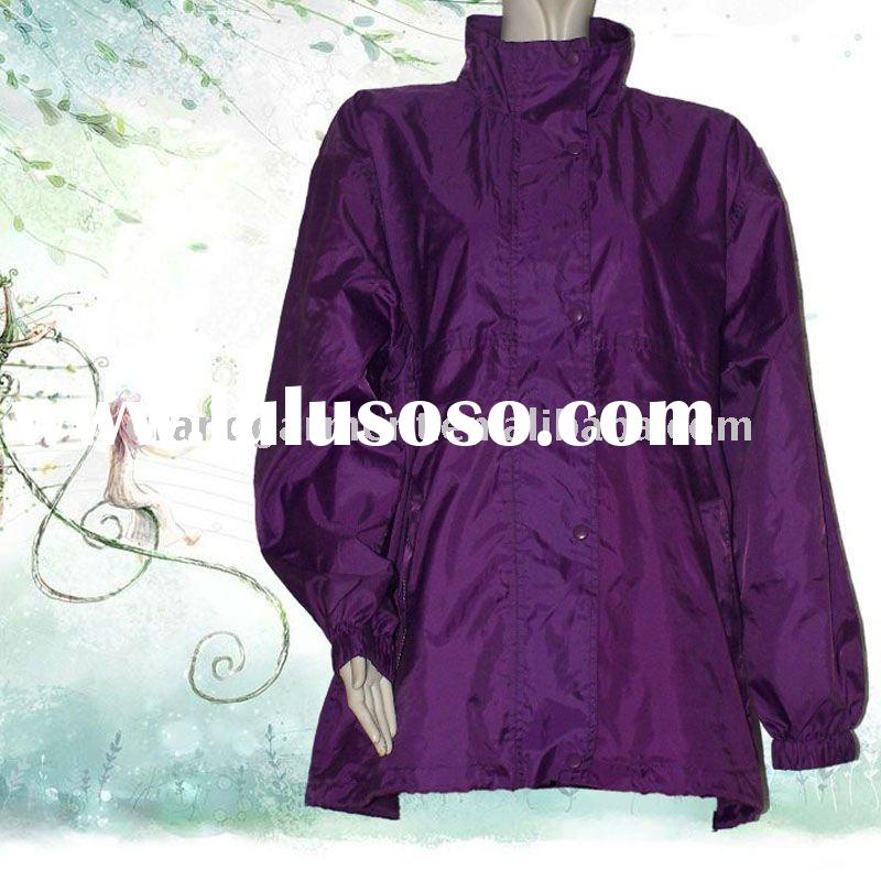 Women's Purple Raincoat/Rainsuit; PVC/PU Raincoat/Rainsuit;Raincoat/Rainsuit for Men/Women