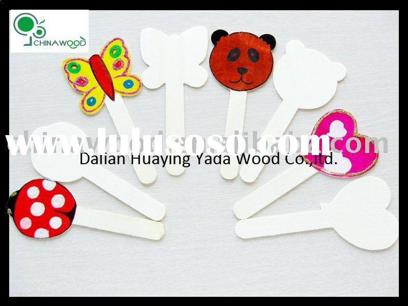 Wooden Animal Shaped Craft Sticks