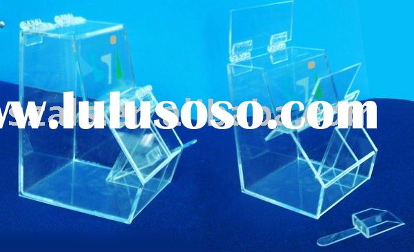 acrylic candy box with scoop