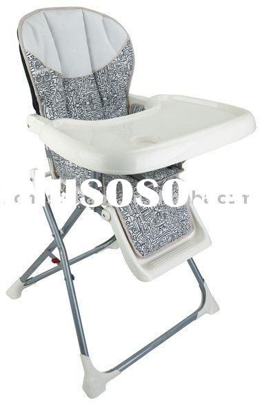baby high chair with food tray