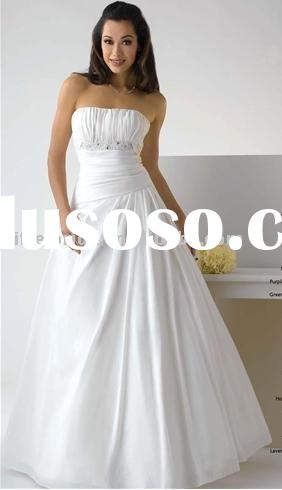 beautiful new style wedding dress