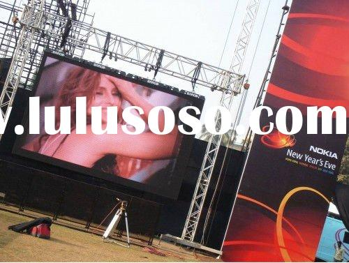 best taiwan chip full color waterproof outdoor led screen