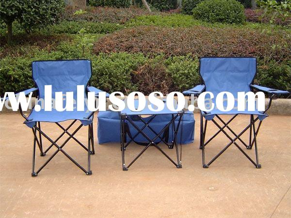 camping beach chairs and tables set