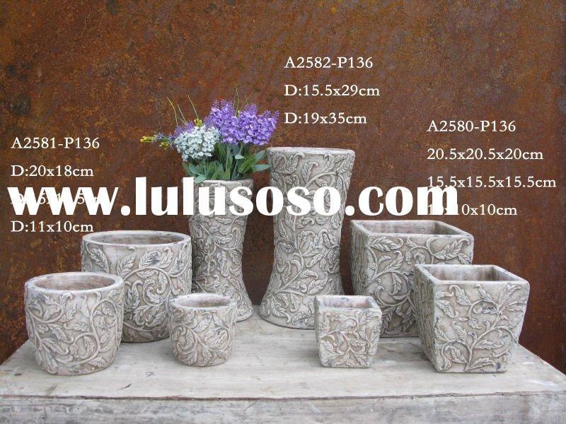 ceramic flower pot indoor decor