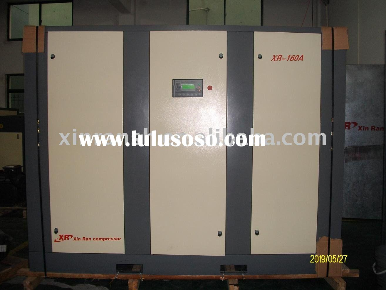 china rotary screw air compressor,lubricated XR160A,160KW LUBRICATED TYPE COMPRESSOR