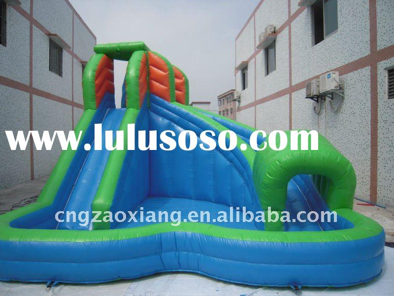 designable large inflatable pool slide for kids