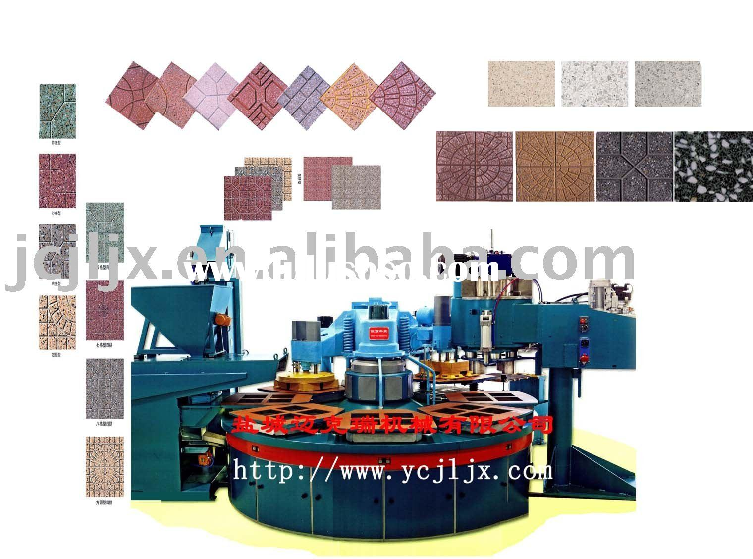 double layer terrazzo tile machine-MKR540D