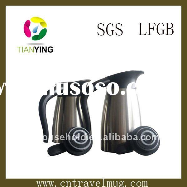 double wall stainless steel vacuum coffe pot ( TY-CK1200F )