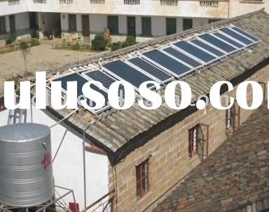 endure high pressure solar collector for water heating