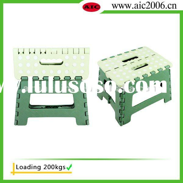 folding step stool, foldable stool, portable stool