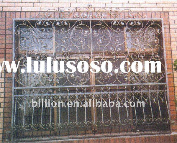 forged iron window grills design